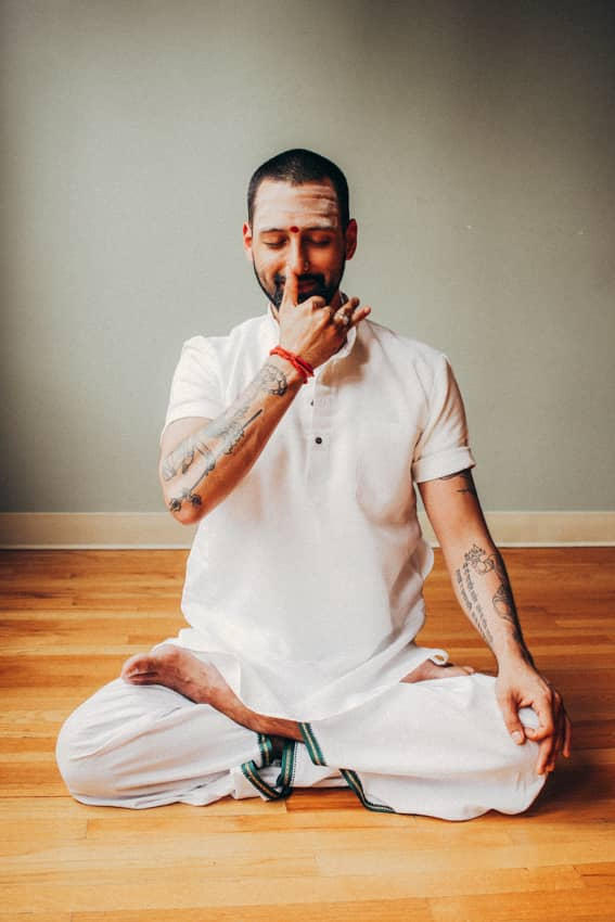 Nataraj Chaitanya, yoga teacher at The Ashram Mount Eliza